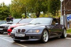 Samochody BMW 5, 3, 6, X3, X5, X6 serie, niemiec Fotografia Royalty Free