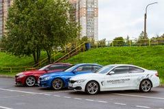 Samochody BMW 4 serii, Niemiecki Bawarski wytwórca zdjęcie royalty free