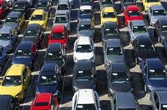 Samochody dla eksporta zdjęcia stock