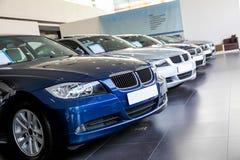 Samochody dla sprzedaży zdjęcie royalty free