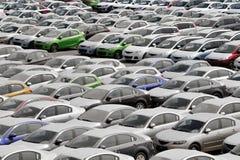 samochody dużo Zdjęcia Stock