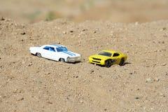 samochody parkujący Fotografia Royalty Free
