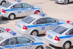 Samochody policyjni obraz stock