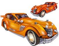 samochody retro ilustracji