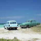 samochody starzy Obraz Royalty Free