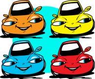 Samochody ustawiający Fotografia Royalty Free