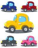 samochody ustawiający Zdjęcia Stock