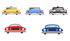 samochody ustawiający Zdjęcie Stock