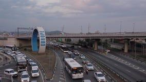 Samochody w ruch drogowy europejczycy zdjęcie wideo