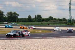 Samochody wyścigowi fotografia stock