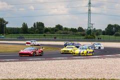 Samochody wyścigowi obraz royalty free