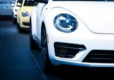 Samochody z rzędu Fotografia Royalty Free