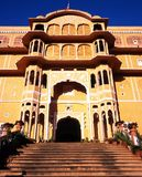 Samode pałac, India zdjęcia royalty free