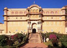 Samode-Palast, Indien. Lizenzfreies Stockbild