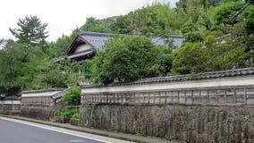 Samoerai-Haus in Matsue Stockfotos