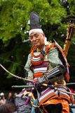 Samoeraien bij het festival van Jidai Matsuri, Kyoto, Japan Stock Foto's