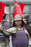 Samoeraien bij het Festival van Nagoya, Japan royalty-vrije stock fotografie