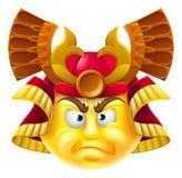 Samoeraien Emoji Emoticon Stock Afbeeldingen