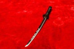 Samoeraien Katana Sword Stock Afbeelding