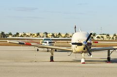 samolotów antepedium widok Zdjęcia Stock