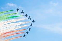 samolotów manoeuvres cywilni robią Zdjęcia Stock