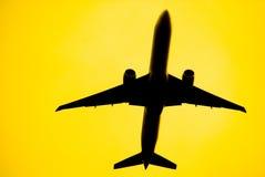 samolot. Zdjęcie Stock