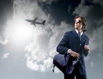 samolot. fotografia stock