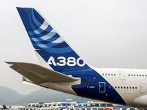 A380 samolot Zdjęcia Stock