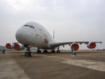 A380 samolot Obraz Royalty Free
