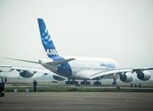 A380 samolot Fotografia Royalty Free