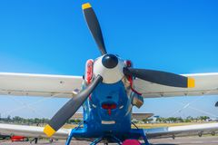 An2 samolot fotografia stock
