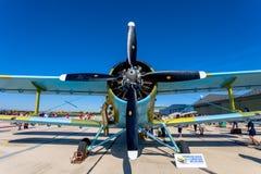 Samolot Antonov An-2 Zdjęcie Royalty Free
