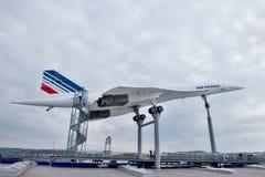 samolot Concorde naddźwiękowy obrazy stock