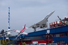 samolot Concorde naddźwiękowy zdjęcia stock