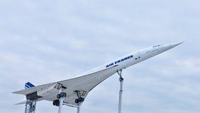 samolot Concorde naddźwiękowy zdjęcia royalty free