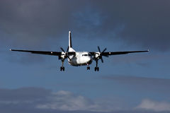 samolot do nieba Obrazy Stock