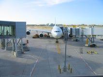 samolot dokujący Obrazy Stock