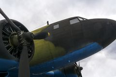 Samolot druga wojna światowa obrazy stock