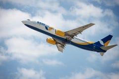 Samolot firma Azurair Obraz Stock