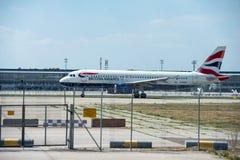 Samolot firma British Airways Zdjęcie Stock