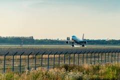Samolot firma Turkish Airlines Zdjęcie Stock