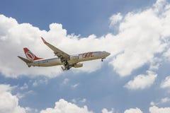 Samolot - Gola transport powietrzny Fotografia Royalty Free