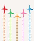 Samolot grupa Zdjęcie Royalty Free
