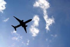 samolot handlowy Zdjęcie Stock