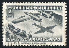 Samolot i Stagecoach zdjęcia stock