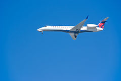 samolot jet fotografia royalty free
