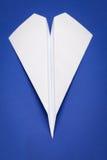 samolot na papierze zdjęcia stock