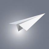 samolot na papierze Zdjęcie Royalty Free