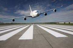 Samolot niska przepustka Obraz Stock