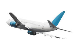 samolot odizolowywający samolot Zdjęcie Royalty Free
